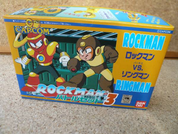 rockman battle set 3 rockman ve ringman